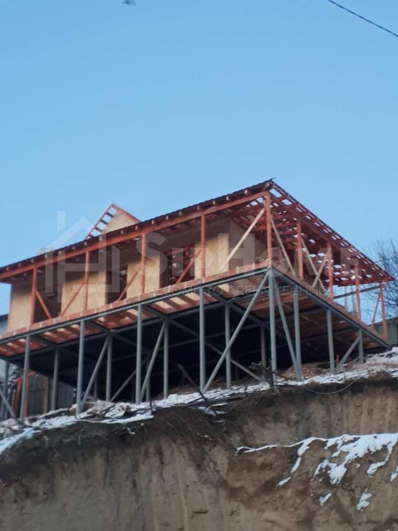 Строительство дома на 107 квадратных метров из СИП панелей (Объект СДАН)