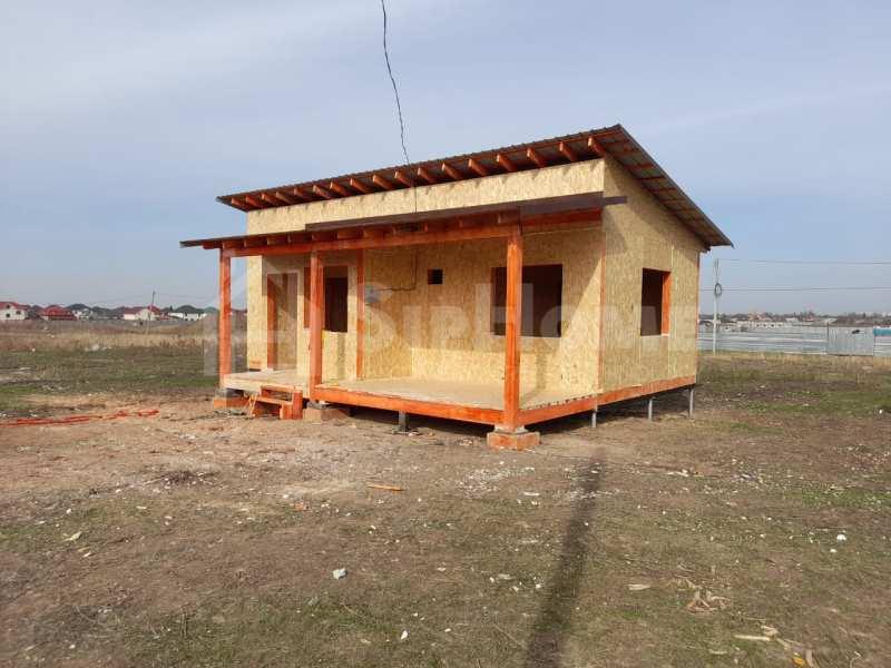 Строительство дома из СИП панелей площадью 50 м2 (Объект СДАН)