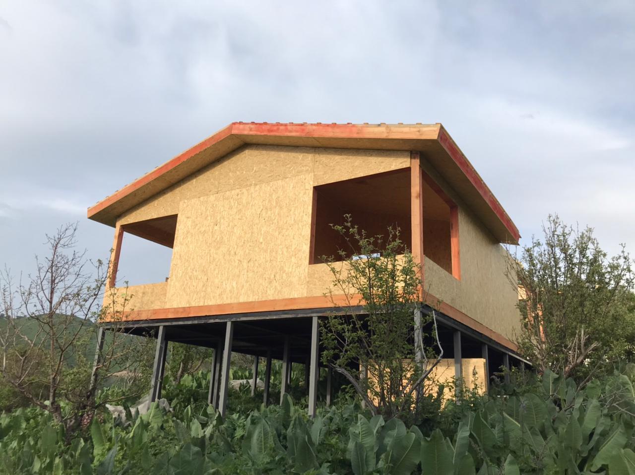 Строительство дома из СИП панелей площадью 96 м2 (Объект СДАН)