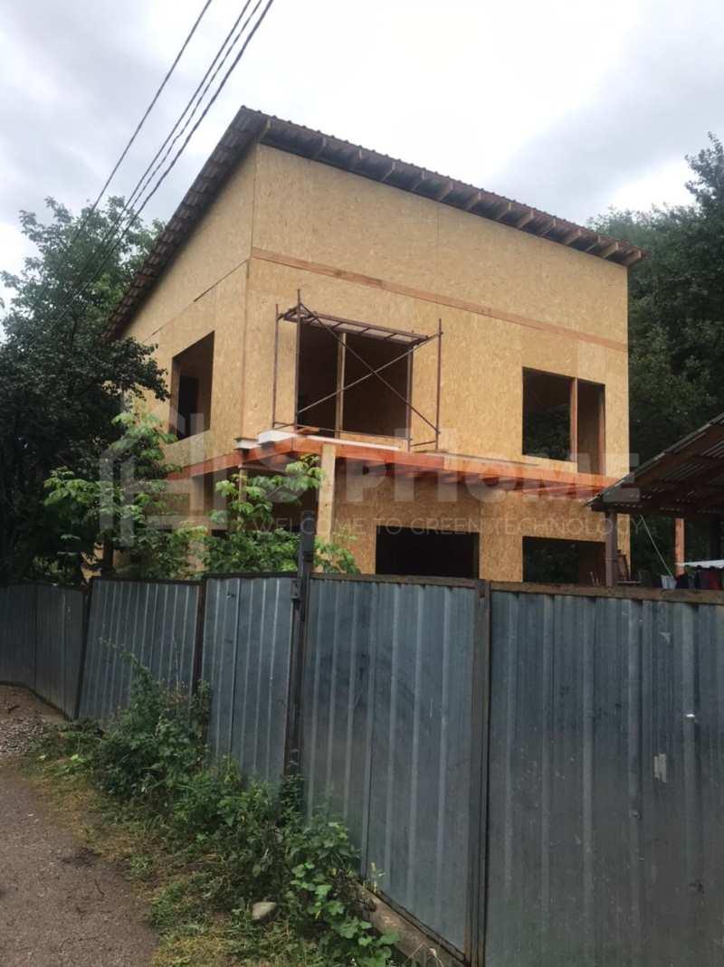 Строительство дома из СИП панелей площадью 170м2 (Объект СДАН)