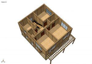 Строительство дома из СИП панелей площадью 170м2 (Объект СДАН) (1)