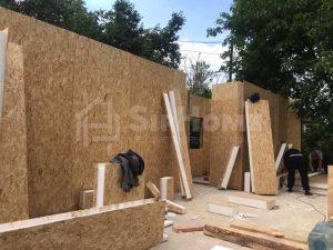 Строительство дома из СИП панелей площадью 170м2 (Объект СДАН) (2)