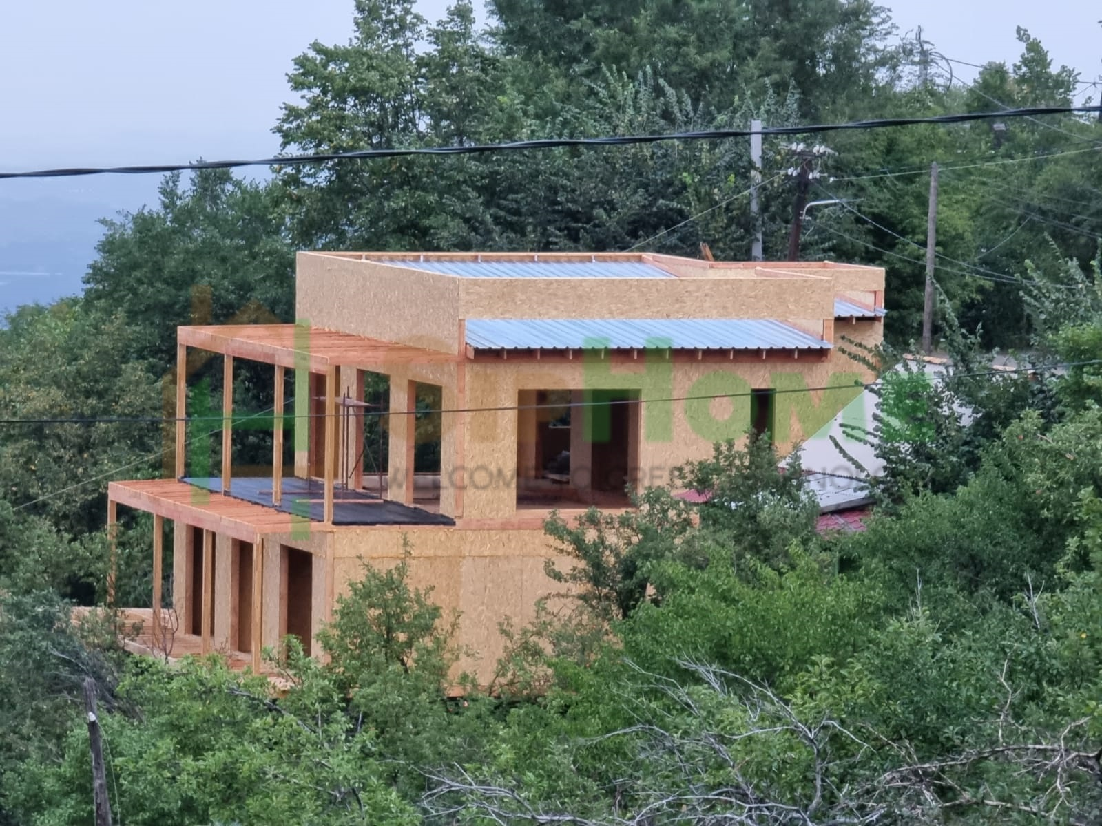 Строительство дома из СИП панелей площадью 342м2 (Объект СДАН)