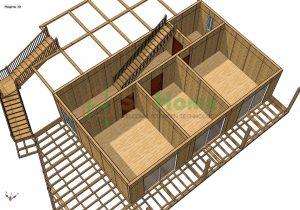 Строительство дома из СИП панелей площадью 342м2 (Объект СДАН) (2)