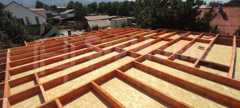 Строительство дома из СИП панелей площадью 150м2 (Объект СДАН)