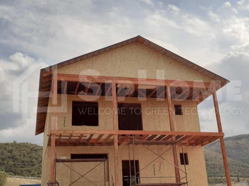 Строительство дома из СИП панелей площадью 207м2 (Объект СДАН)