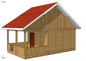 Строительство дома из СИП панелей площадью 67м2 (Объект СДАН) (30)